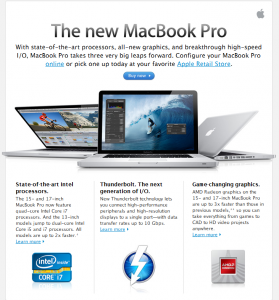 neue MacBook Pro online