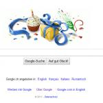 Google gratuliert zu meinem Geburtstag