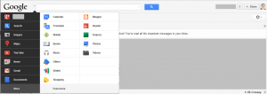 Google Interface Updates