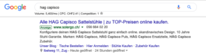 SEA - Search Engine Advertising mit Google Ads